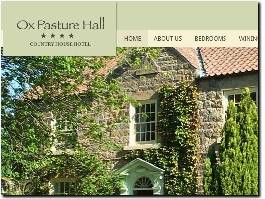 https://www.oxpasturehallhotel.com website