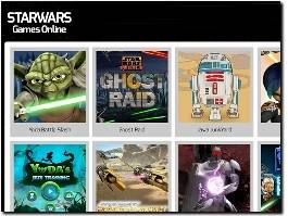 https://www.starwarsgamesonline.com/ website