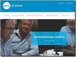 https://maclennanwaterproofing.co.uk/ website