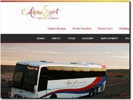 https://www.alpinespiritcoaches.com.au/ website