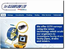 http://www.1stclearflow.co.uk/ website