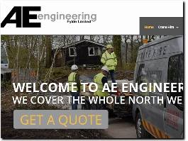 https://www.ae-engineering.co.uk website