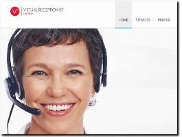 http://www.virtualreceptionist.london/ website