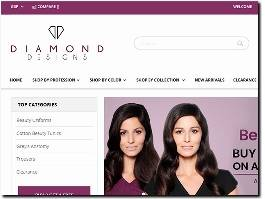 https://www.diamonddesignsuniforms.com/ website