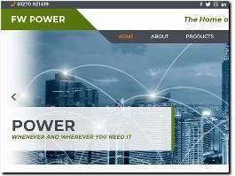 https://fwpower.co.uk/ website