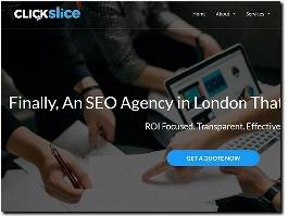 https://clickslice.co.uk/ website