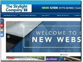 https://www.theskylightcompany.co.uk/ website