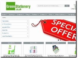 https://www.greenstationery.co.uk/ website