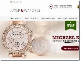 https://www.luxerwatches.com/ website