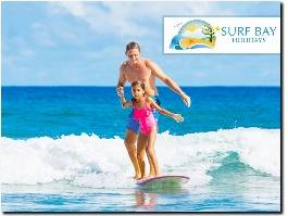 https://www.surfbayholidays.co.uk/ website