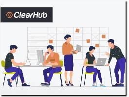 https://clearhub.tech/en-us/ website
