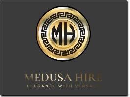 https://medusahire.com/ website