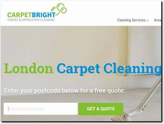 https://www.carpetbright.uk.com/carpet-cleaning/london/ website