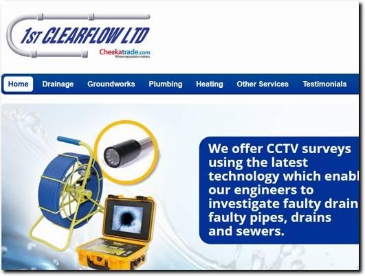 http://www.1stclearflow.co.uk/ website