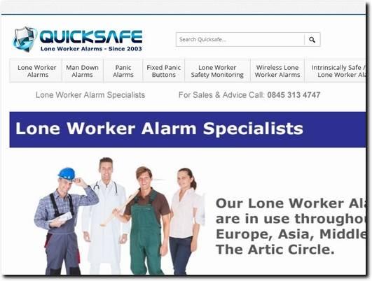 http://www.quicksafe.co.uk/ website