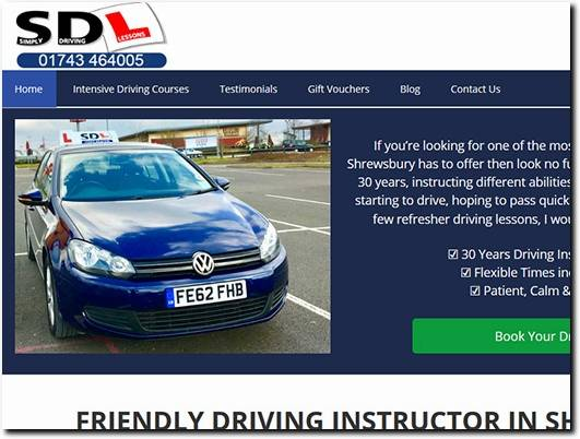 https://www.simplydrivinglessons.co.uk/ website