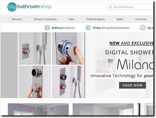 https://www.bigbathroomshop.co.uk/ website