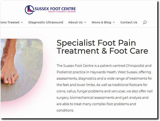 https://www.sussexfootcentre.co.uk/ website