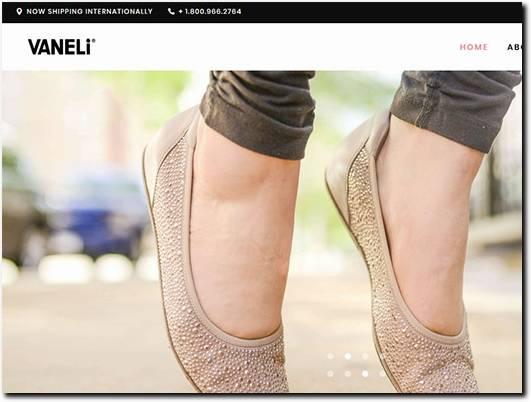 https://vanelishoes.com/ website