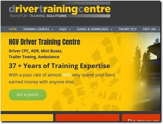 http://drivertrainingcentre.co.uk/ website