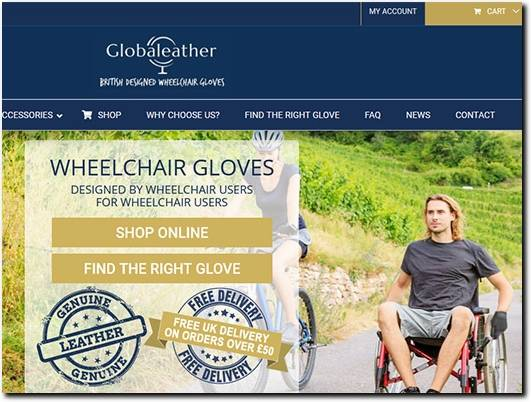 https://www.globaleather.com/ website