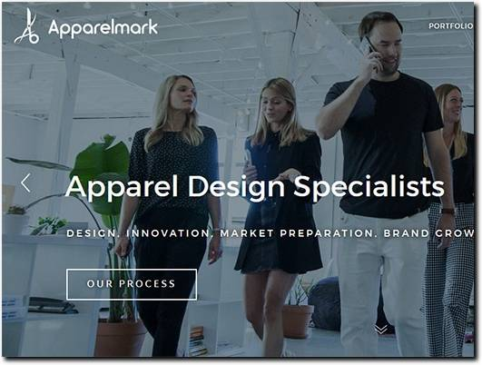 https://www.apparelmark.com/ website
