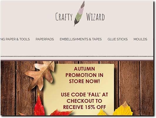 https://www.craftywizard.co.uk/ website