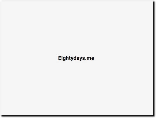 https://app.eightydays.me/ website