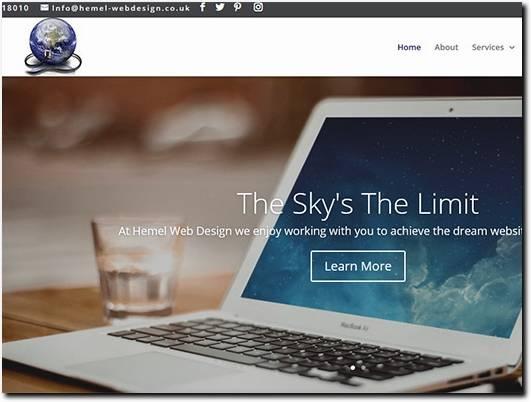 https://www.hemel-webdesign.co.uk/ website