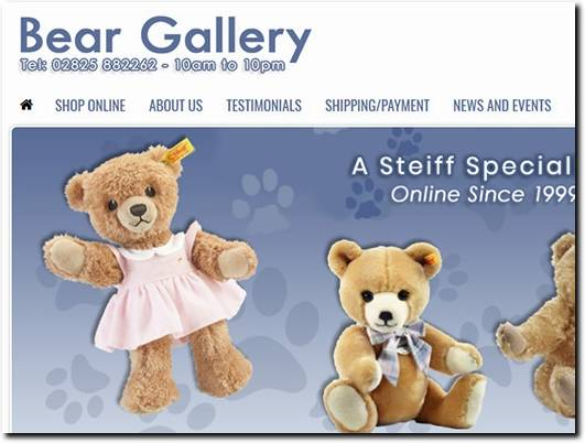 https://www.beargallery.co.uk/ website