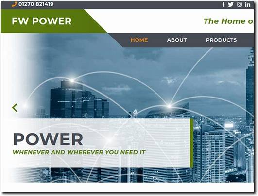 https://fwpower.co.uk/ website