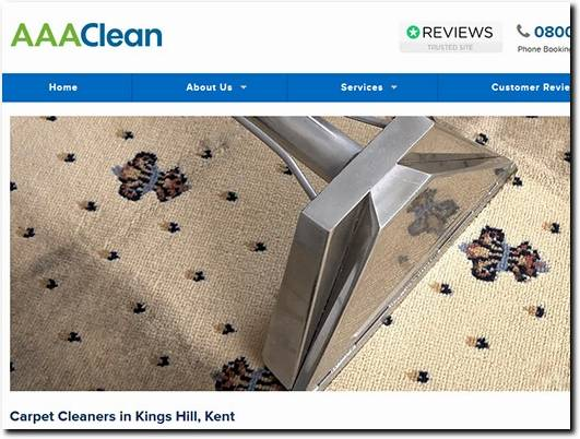 https://www.aaaclean.co.uk/carpet-cleaning/sevenoaks/ website