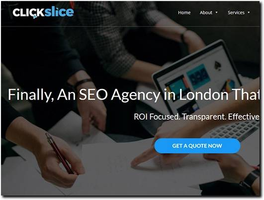 https://clickslice.co.uk/ website