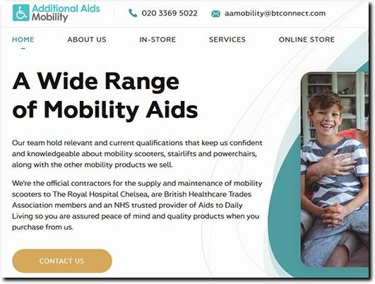 http://www.aamobility.co.uk/ website