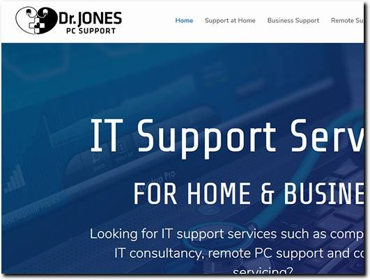 https://www.drjonespcs.co.uk/ website