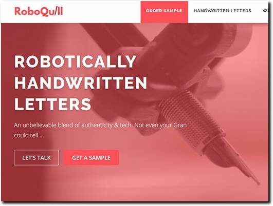 https://roboquill.io/ website