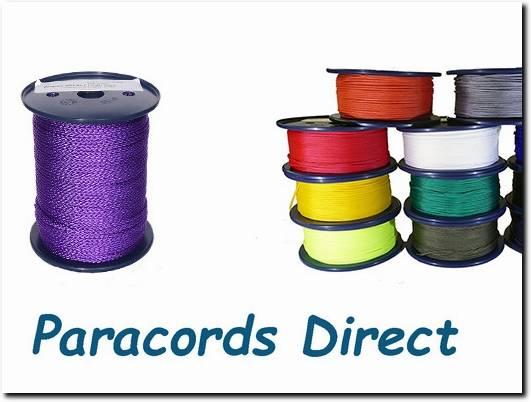 https://www.paracordsdirect.co.uk/ website