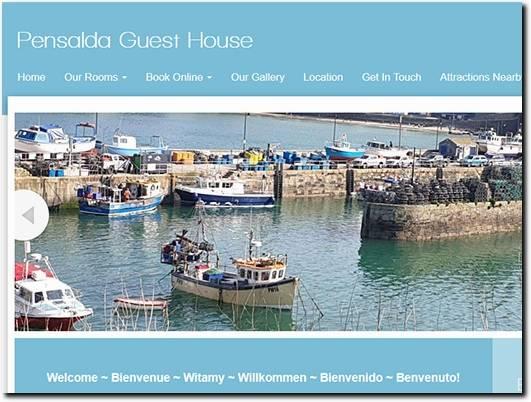 https://www.pensalda-guesthouse.co.uk/ website
