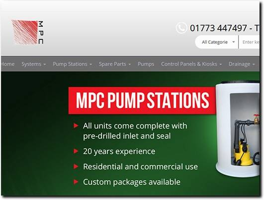 https://mpcservices.co.uk/ website
