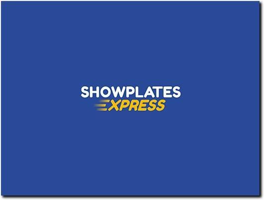 https://www.showplatesexpress.com/show-plates-maker/ website