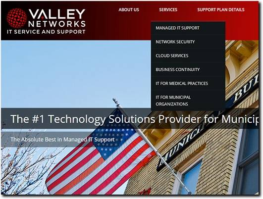 https://valleynetworks.us/ website