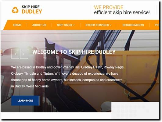 https://skip-hire-dudley.co.uk/ website