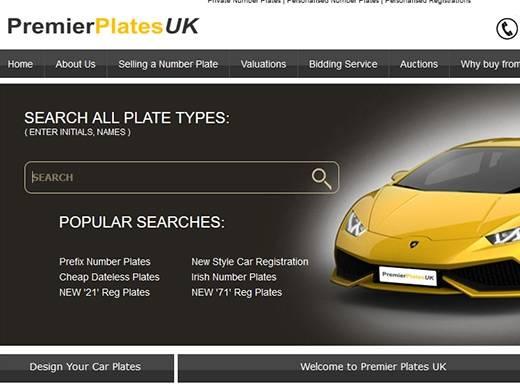 https://www.premier-plates.com website